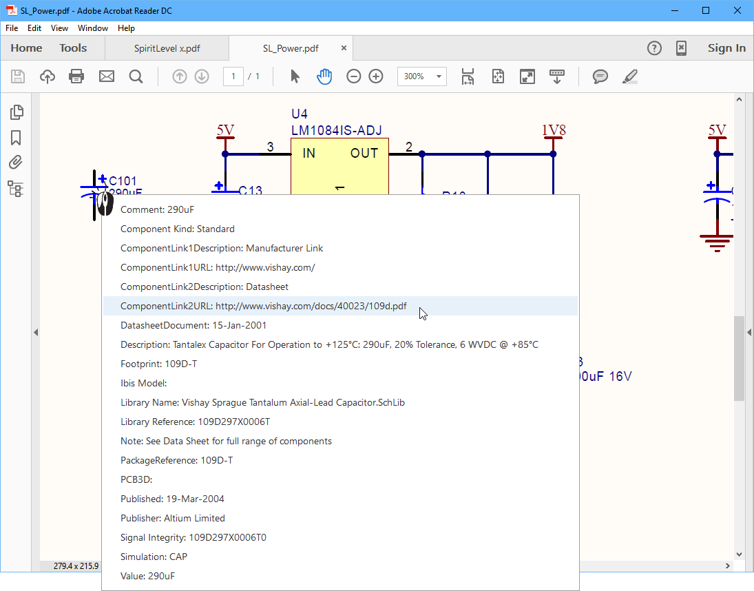 Understanding Models Components And Libraries Online Digital Classd Amp Circuit Pcb Schematic All Files Alternative Links Click On A Component In The Pdf To Display Parameters Link Type Parameter Open Target