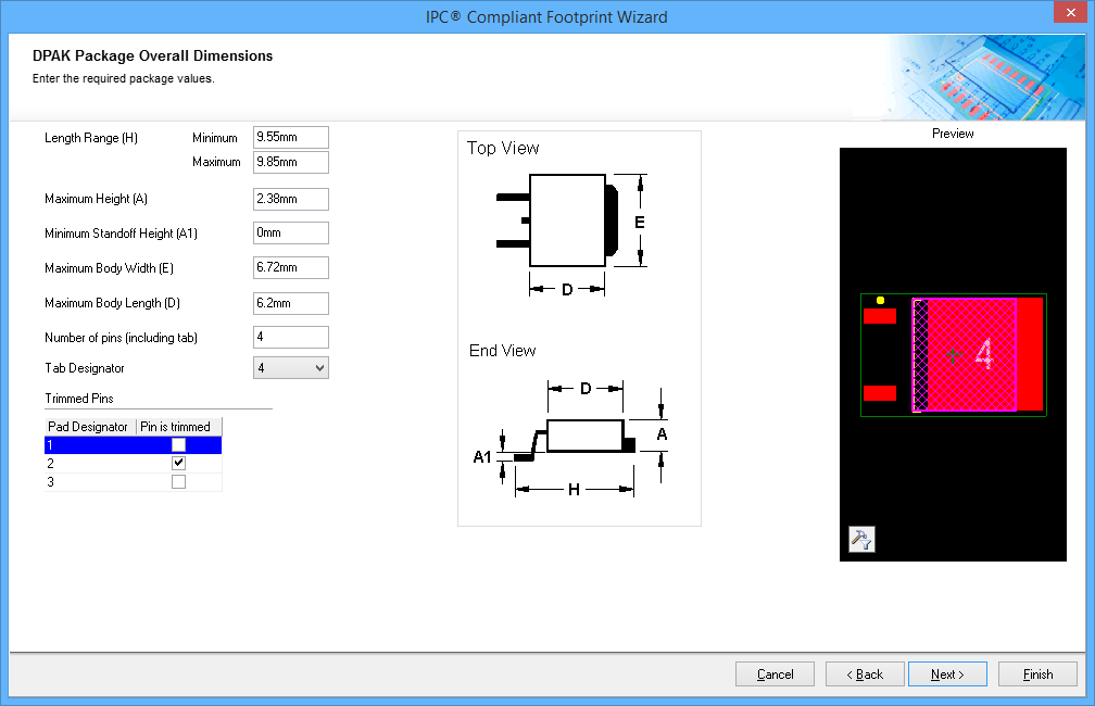 Creating the PCB Footprint | Altium Designer 15 1 User