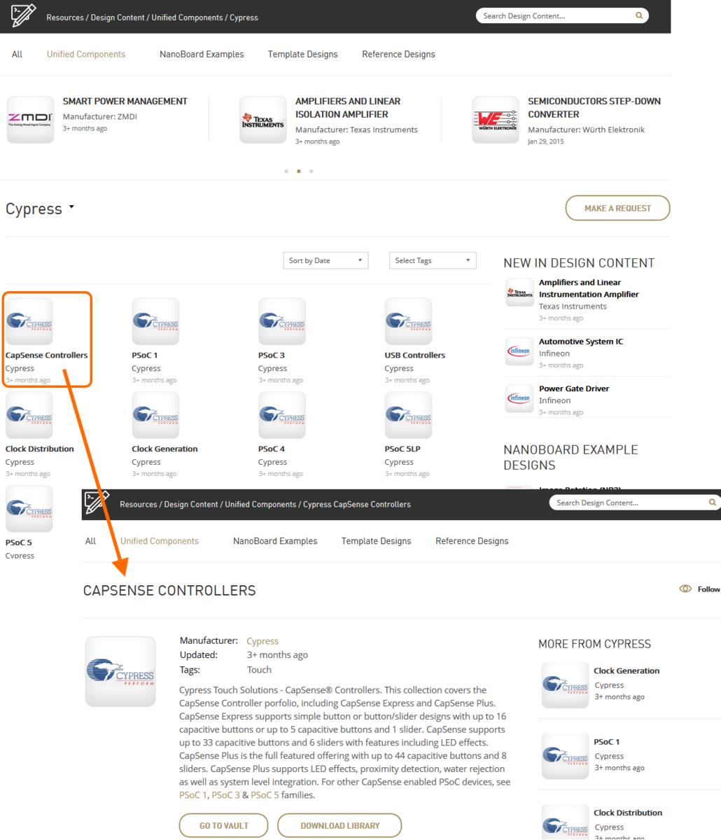 Cypress Touch Controls | Altium Designer 15 1 User Manual