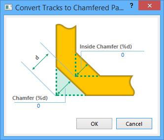 Convert Tracks to Chamfered Path | Altium Designer 15 1 User