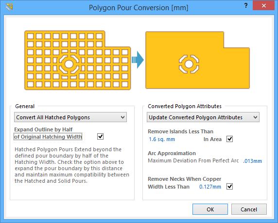 polygon pour conversion online documentation for altium. Black Bedroom Furniture Sets. Home Design Ideas