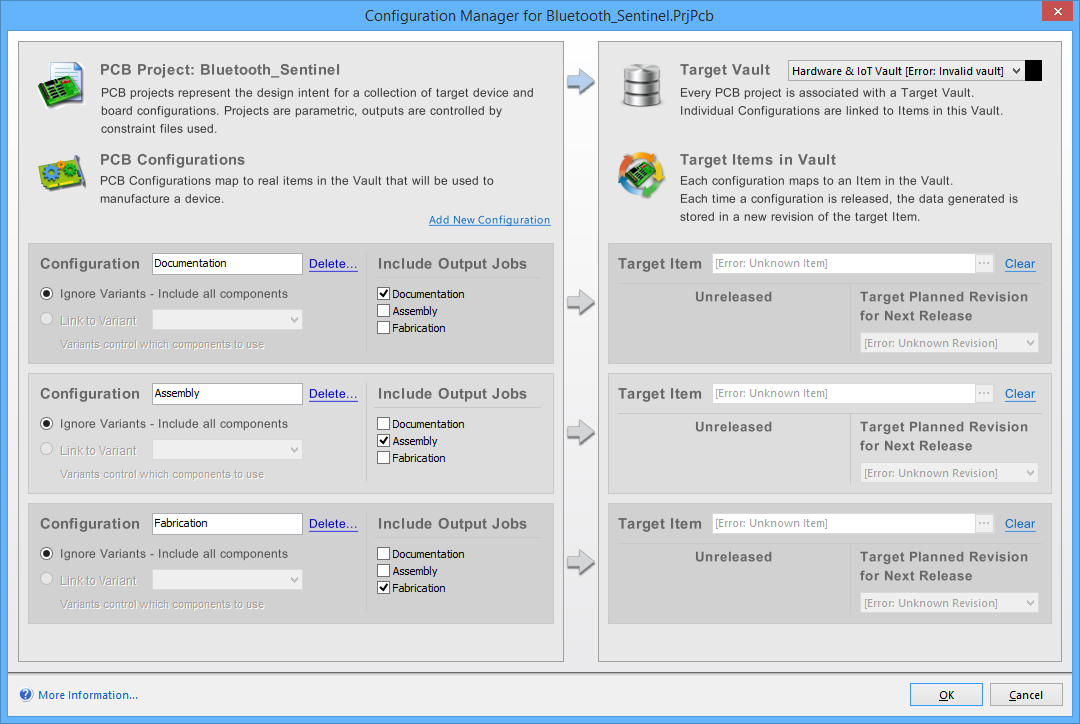 Configuration Manager for PCB Project | Altium Designer 15 1 User