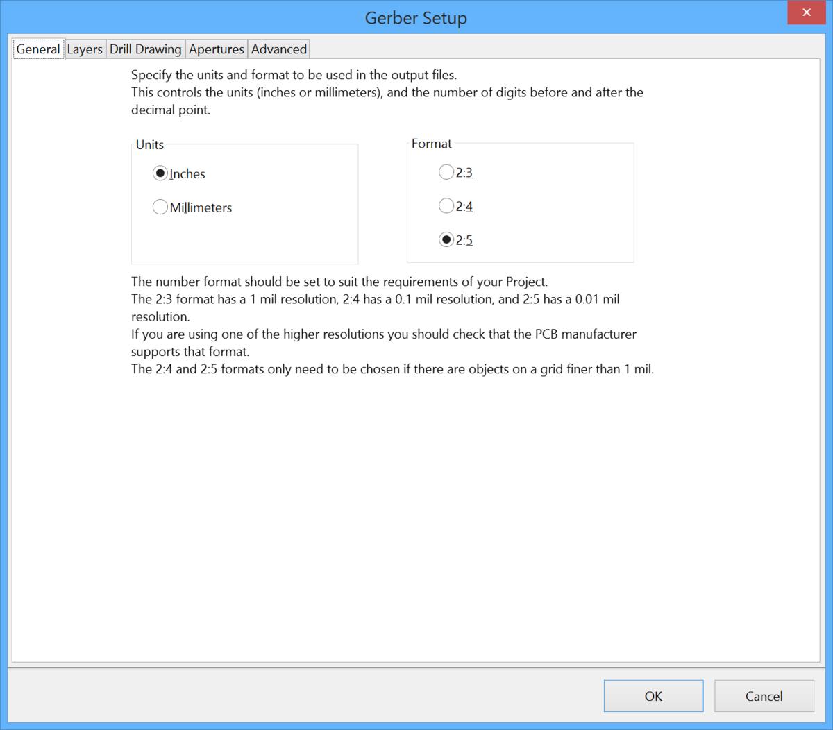 Gerber Setup | Altium Designer 15 1 User Manual | Documentation