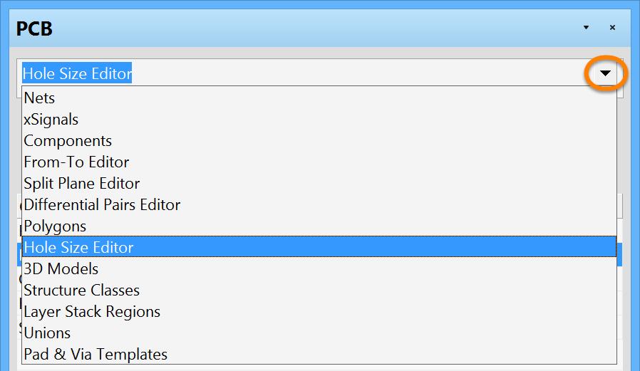 PCB - Hole Size Editor | Altium Designer 15 1 Руководство