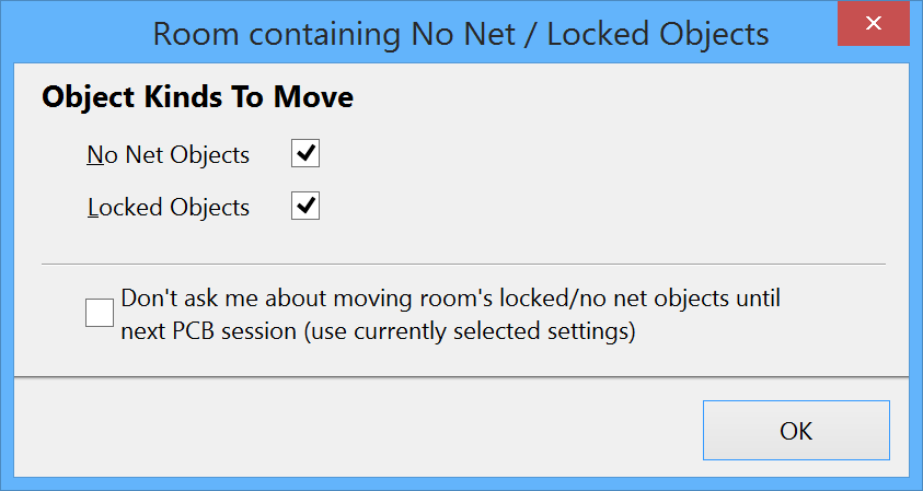 Room containing No Net - Locked Objects   Altium Designer 15 1 User