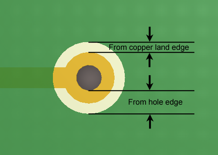 Solder Mask Expansion from Hole | Altium Designer 15 1 User