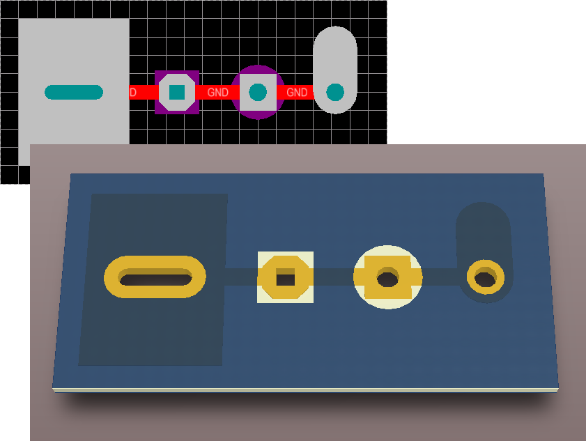 A range of useful (and novel) solder expansion mask configurations can be applied when the mask shape follows the pad hole shape. & Solder Mask Expansion from Hole | Online Documentation for Altium ...