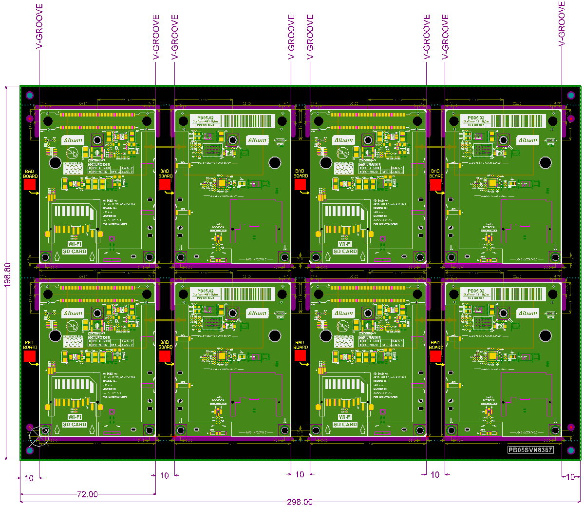 Panelization - Embedded Board Array Enhancements | Altium Designer