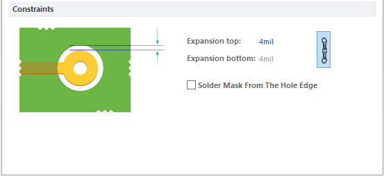 Solder Mask Expansion | Altium Designer 16 0 マニュアル
