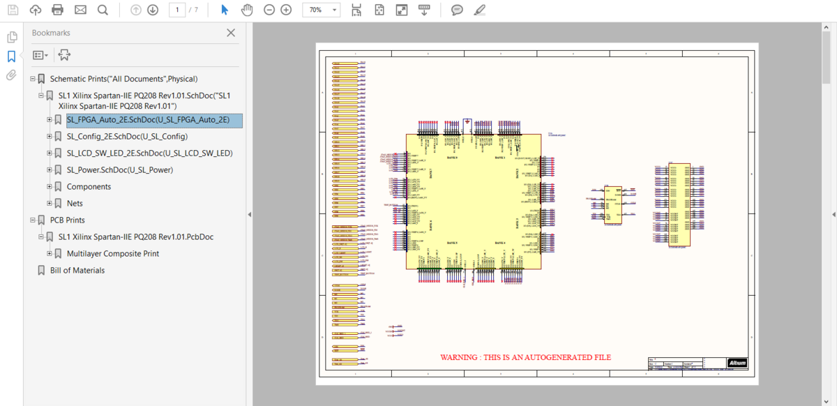 Smart PDF Wizard | Online Documentation for Altium Products