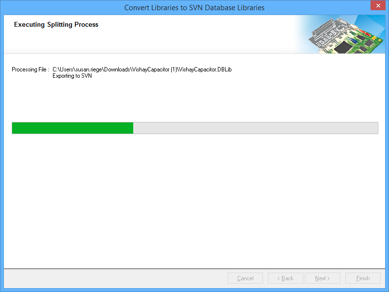 SVN Database Library Conversion Wizard | Altium Designer