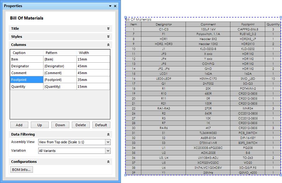 Pcb Sampling Building Materials : Draftsman online documentation for altium products