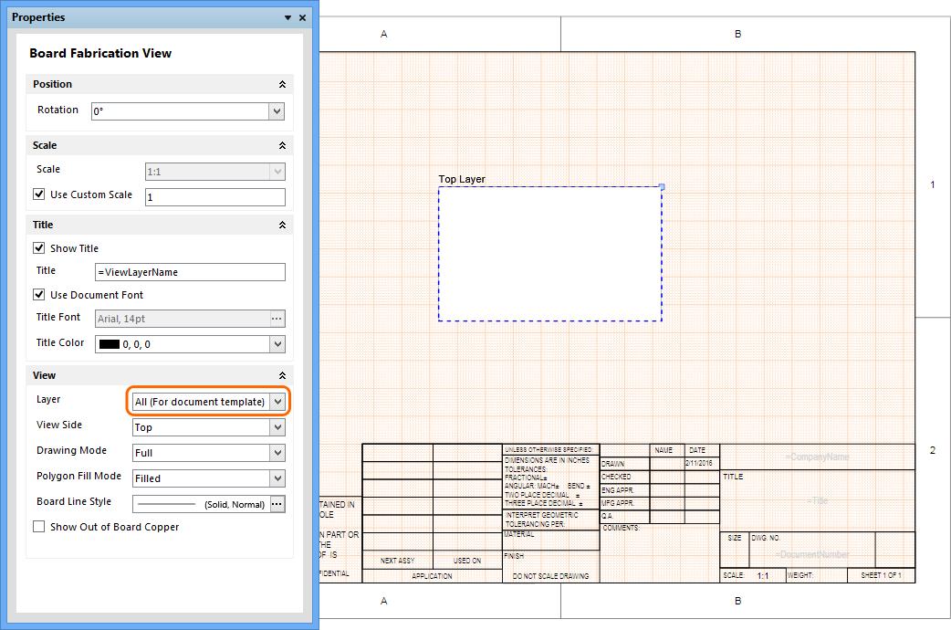 Altium Templates | Draftsman Enhancements Online Documentation For Altium Products