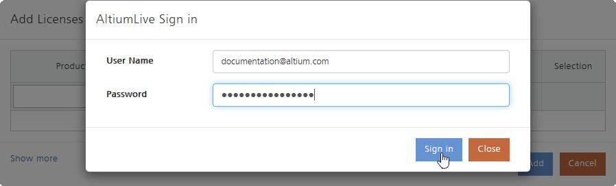 Altium Vault Licensing | Altium Vault 3 0 User Manual