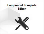 The Component Template Editor extension.