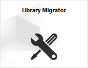 The Library Migrator extension.