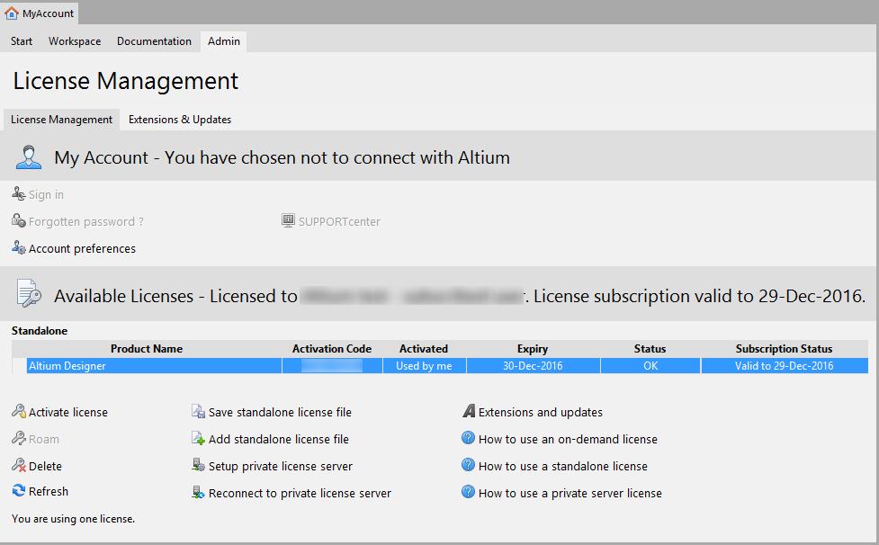 altium designer 17 standalone license file
