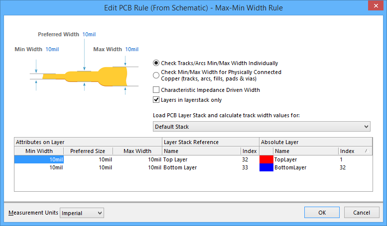 edit pcb rule from schematic online documentation for. Black Bedroom Furniture Sets. Home Design Ideas