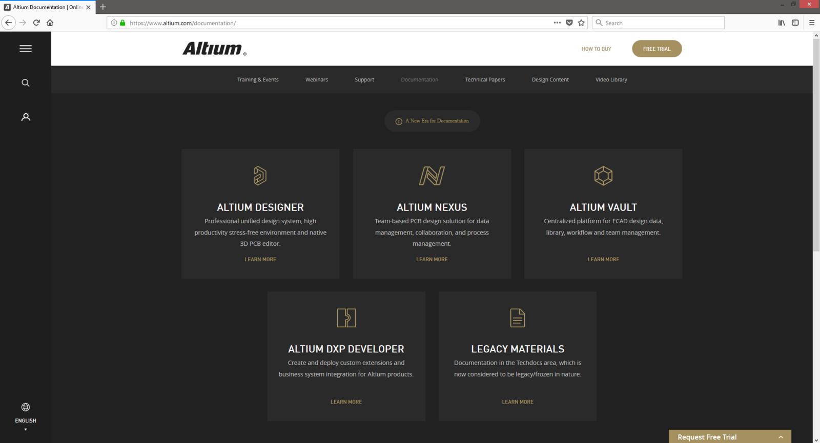 Using Altium Documentation | Online Documentation for Altium Products