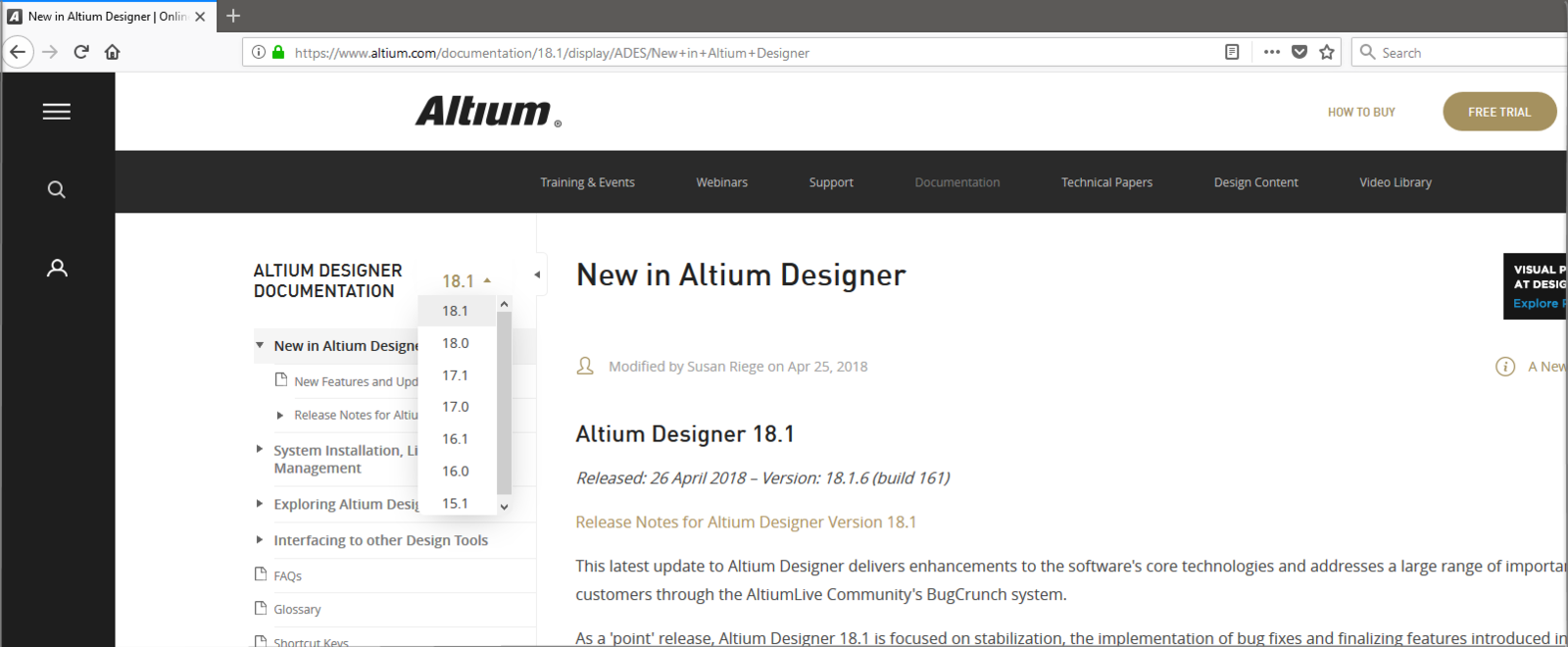 Using Altium Documentation Online For Products Circuit Wizard Professional Edition Download Use The Selector To Explore Features In A Different Version