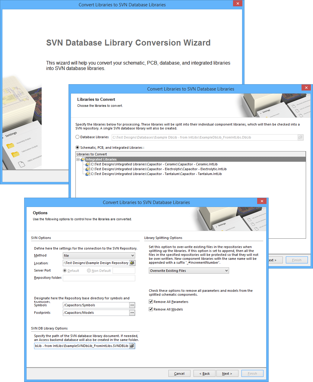Database Library Migration Tools Online Documentation For Altium Translated Schematics Here Bringing One Or More Source Integrated Libraries Into The Svn Structure Is A Streamlined Process Using Conversion