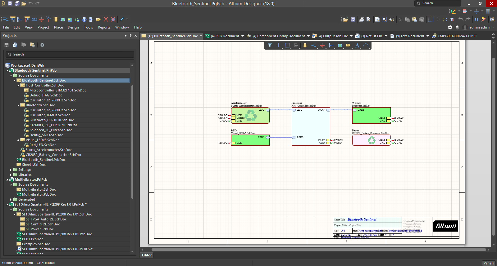 Color Scheme Designer a fresh user interface | altium designer 18.0 user manual