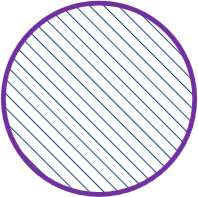 A placed Circle, with optional ANSI fill