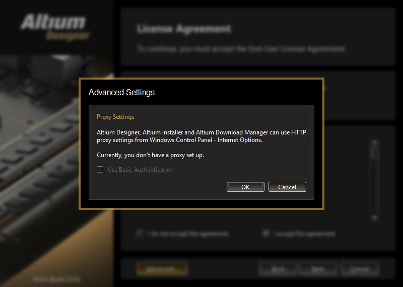 Installing Altium Designer | Altium Designer 18 0 User Manual