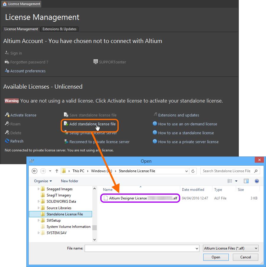 Altium Designer  License File Download