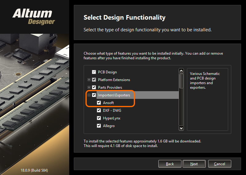 Ansoft Neutral Export | Altium Designer 18 0 User Manual | Documentation