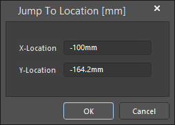 The Jump To Location dialog