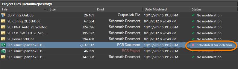 Storage Manager | Altium Designer 18 0 User Manual | Documentation
