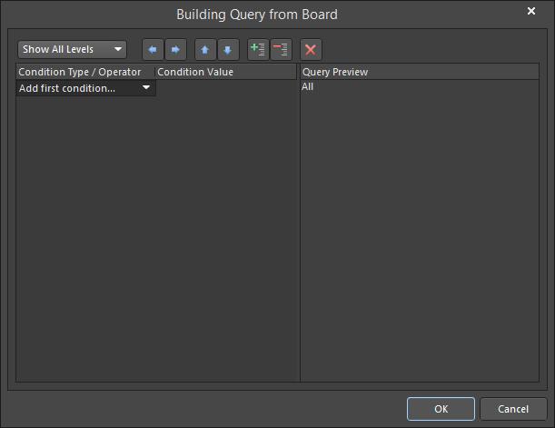 Query Builder   Altium Designer 18 0 User Manual   Documentation