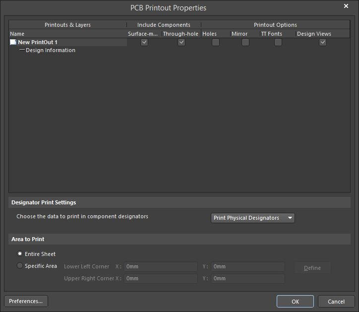 photo relating to Printout Designer identified as PCB Printout Characteristics Altium Designer 18.0 Consumer Guide
