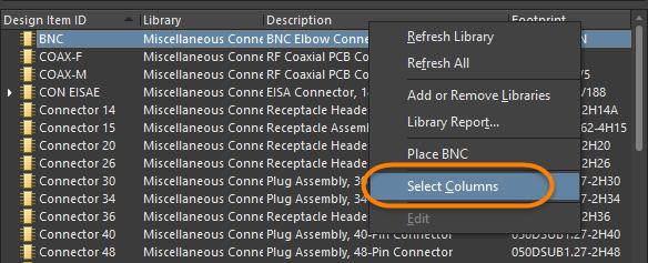 Libraries | Altium Designer 18 0 User Manual | Documentation