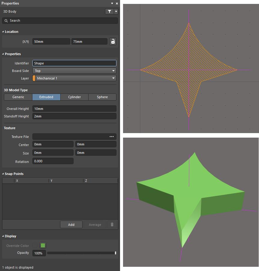 3D Body | Altium Designer 18 0 User Manual | Documentation