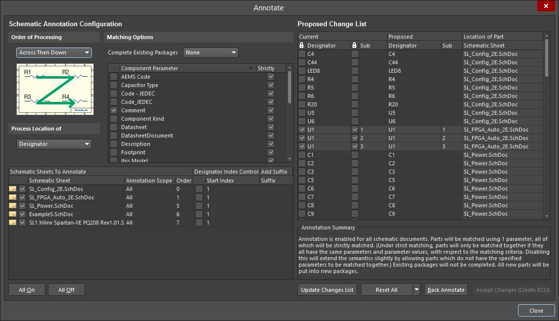Annotate | Altium NEXUS 1 0 User Manual | Documentation