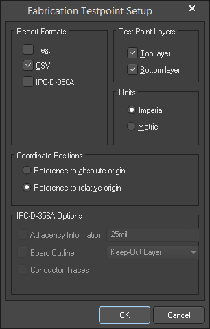 The two varations of the Testpoint Setup dialog