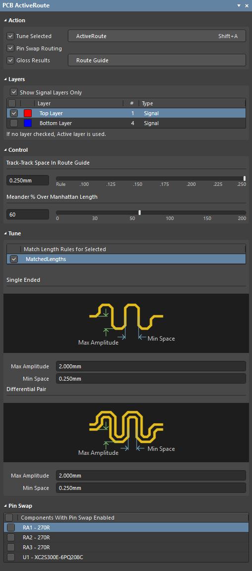 ActiveRoute | Altium Designer 18 0 User Manual | Documentation