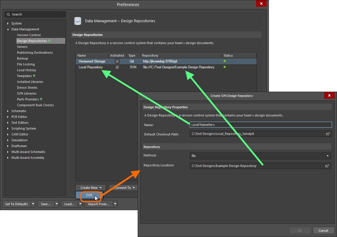 Working with a Design Repository   Altium Designer 18 0 User