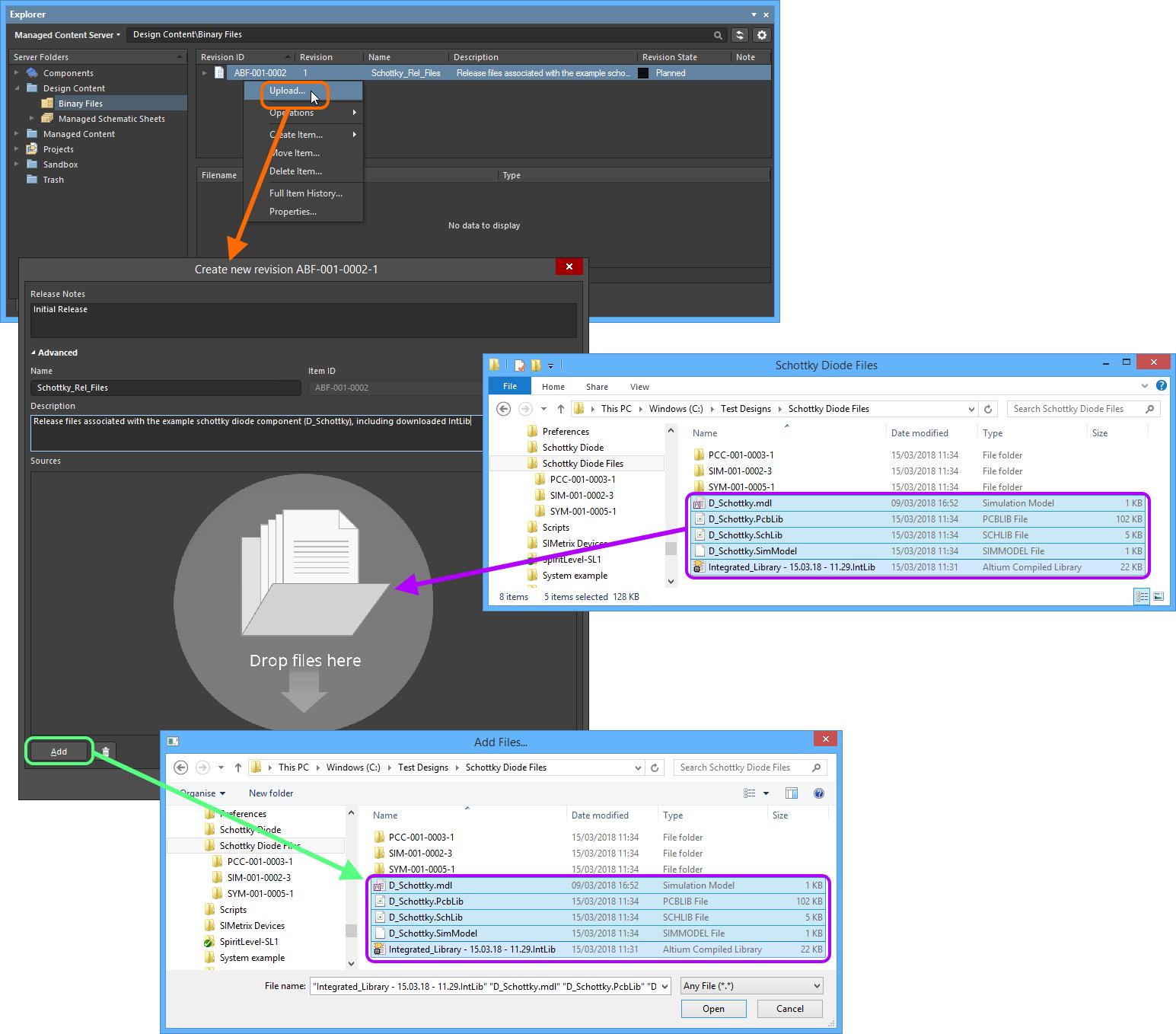 Free-File Storage | Altium Designer 18 0 User Manual