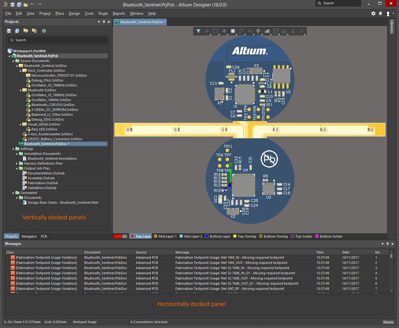 Working with Panels in Altium Designer | Altium Designer