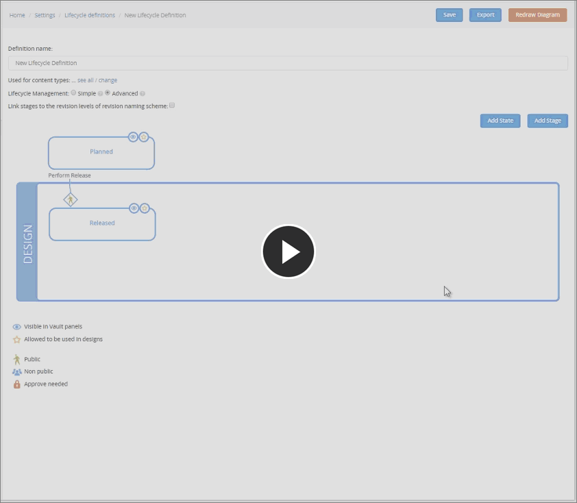 A quick play with the lifecycle management interface!
