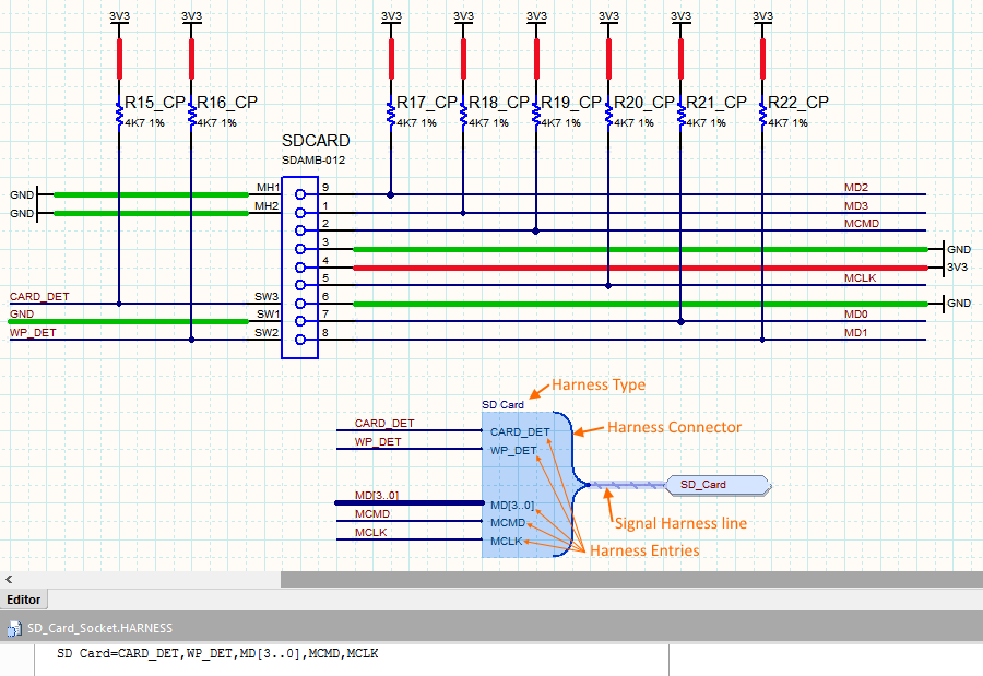 Signal Harness | Online Documentation for Altium Products