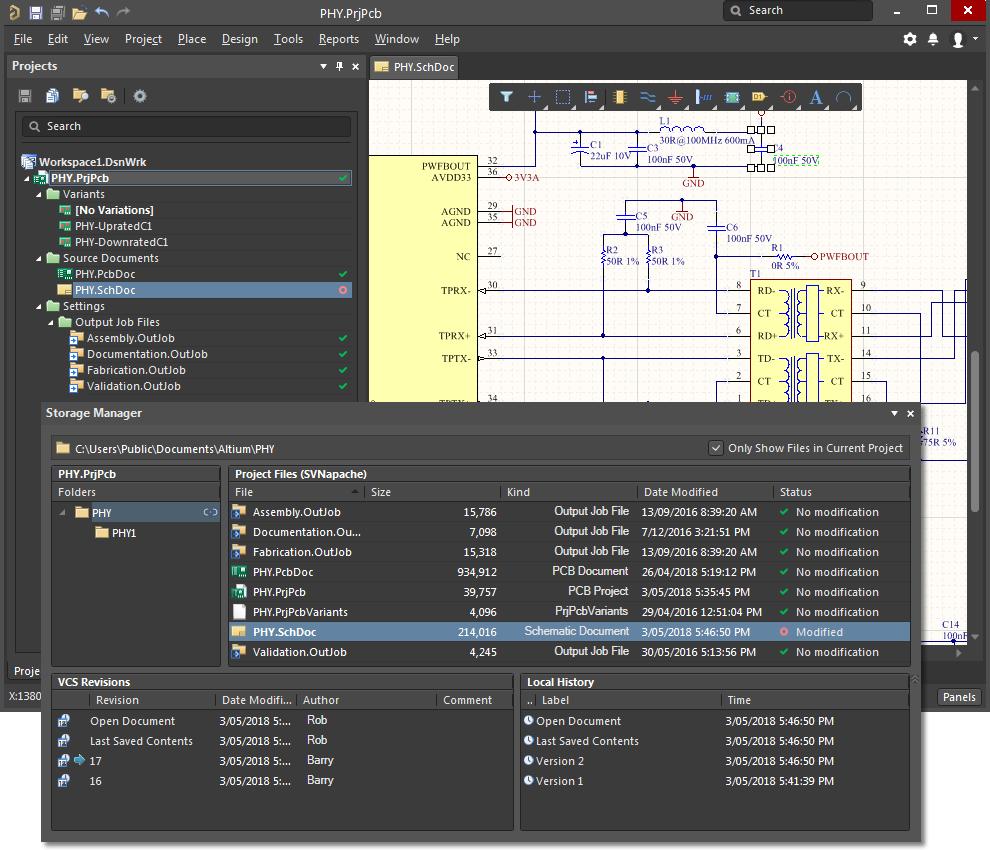 Version Control and Design Repositories | Altium Designer