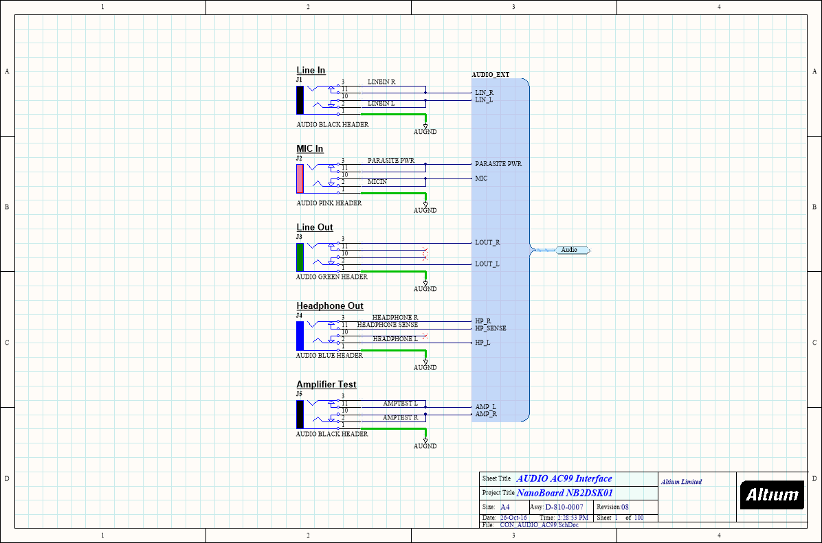 More About Schematics Online Documentation For Altium Products Here Is The Circuit Schematic Demonstration Board Connecting Components