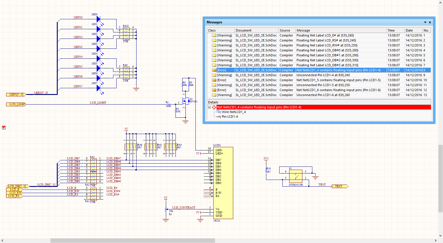 Specifying Design Requirements With Directives Online Electrical Schematic Classes Roll Over The Image To Show Effect Of Using A Compile Mask Directive Hide Compiler Violations Due Incomplete Circuitry