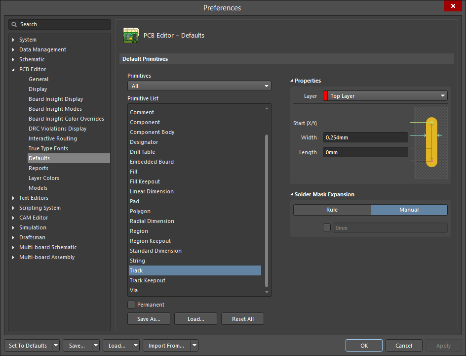 Placing and Editing PCB Objects | Altium Designer 18 0 User