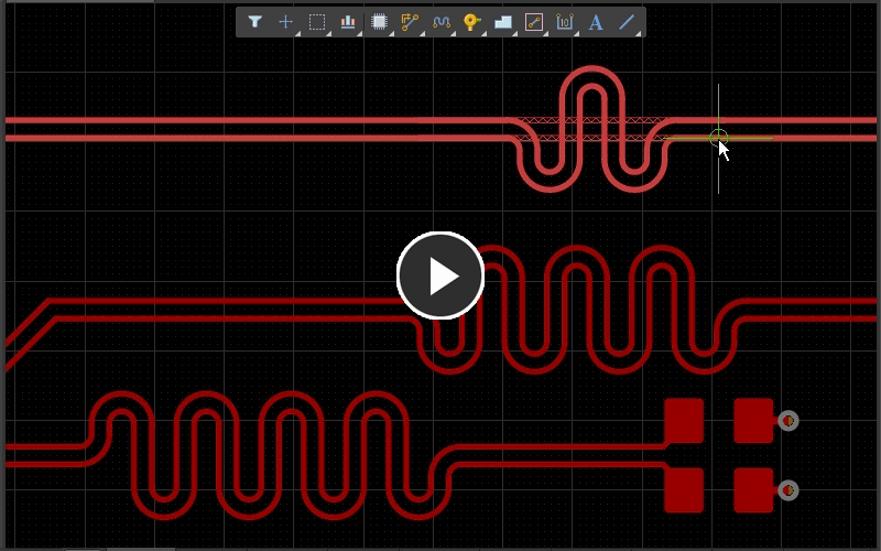 Using the loop removal feature to remove length tuning accordions.