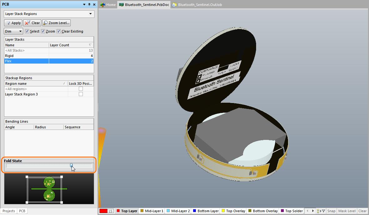 Rigid-Flex Design | Online Documentation for Altium Products